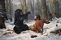 Arthur Fitzwilliam Tait - 'The Life of a Hunter-A Tight Fix', 1856.JPG