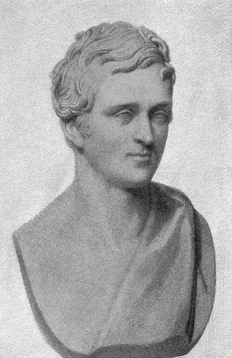 Henry Hallam - A drawing of a bust of Hallam's son Arthur by Sir Francis Leggatt Chantrey