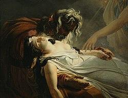 Ary Scheffer: The Death of Malvina