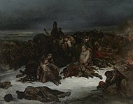 Ary Scheffer - The Retreat of Napoleon's Army from Russia in 1812 - 2011.136.1 - Yale University Art Gallery.jpg