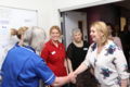 As we celebrate 70 years of the NHS, SofS Karen Bradley was delighted to visit Belfast City Hospital's Regional Cancer Centre to meet its inspiring staff and patients (42518448894).png