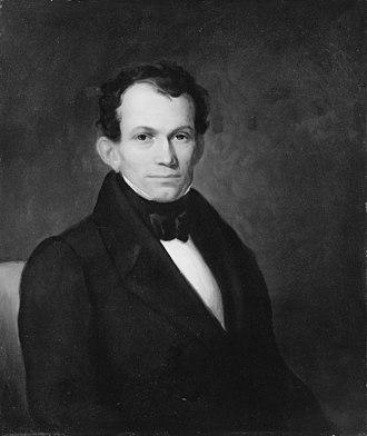 Jonathan Sturges (businessman) - Portrait of Sturges by Asher Brown Durand, c. 1840