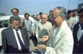 Ashesh Prasad Mitra - Jyoti Basu - Saroj Ghose - Science City - Calcutta 1996-12-21 009.tif