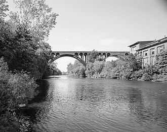 Blackstone River - Blackstone River at Ashton, RI (Ashton Viaduct)