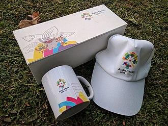 2018 Asian Games - Merchandise