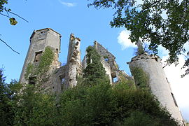 Ruins of the chateau of Rochefort