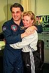 Astronaut David Wolf greets friend.jpg