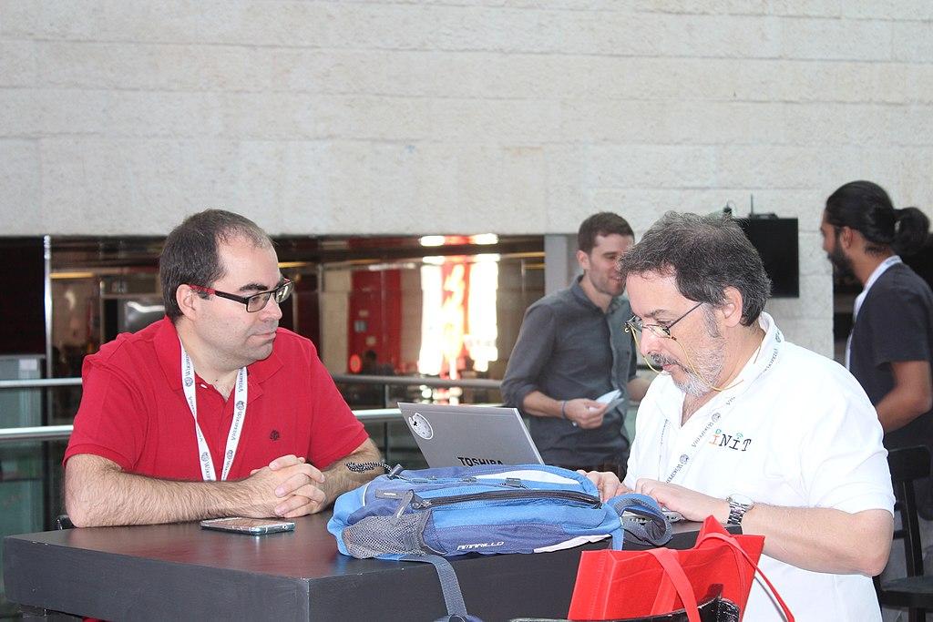 At GLAM WIKI Tel Aviv Conference 2018 IMG 2216