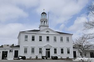 National Register of Historic Places listings in Rockingham County, New Hampshire - Image: Atkinson NH Academy