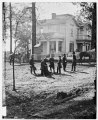 Atlanta, Georgia. Federal officers standing in front of house. (Formerly headquarters of Gen. John Bell Hood.) LOC cwpb.03389.tif