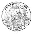 Atwater1881 p94 Medal commemorating the Settlement of New Haven.jpg
