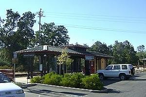 Auburn station (California) - Image: Auburn California Amtrak station