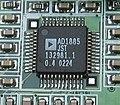 Audio Codec DA Converter AD1885 IMG 2075.JPG