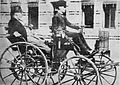 AufAltenWegebMexicoGuatemala 1897 Primer carro.jpeg