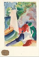 August Macke - Picnic on the Beach (Picnic after Sailing), 1913 - Google Art Project.jpg