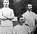 August Nilsson, Gustaf Söderström and Karl Staaf, 1900 Olympics.jpg