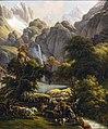 Augustins - La Chasse à l'ours vers la cascade du lac d'Oo, près de Bagnères-de-Luchon - Louis-François Lejeune - 2000 1 1.jpg
