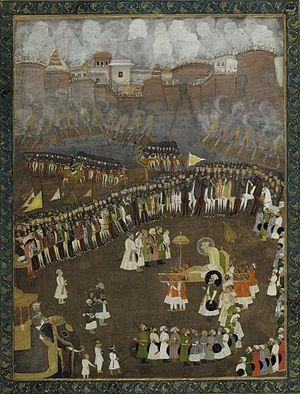 Muqarrab Khan - Aurangzeb leads the Mughal Army during the Siege of Satara.