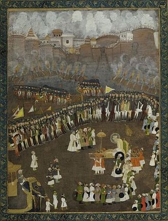 Battle of Satara - Aurangzeb leads the Mughal Army during the Battle