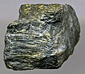 Auriferous, uraninitic, hydrocarbon-rich stromatolite rock (Carbon Leader Gold Ore) (Witwatersrand Supergroup, ~2.9 Ga; Blyvooruitzicht Gold Mine, South Africa) 3 (14533130120).jpg