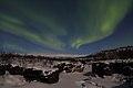 Aurora over frozen Abiskojåkka.jpg