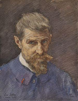 Henri Duhem - Self-portrait (1915)