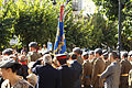 Autoridades civiles y militares presidiendo la Jura de Bandera (15262706490).jpg