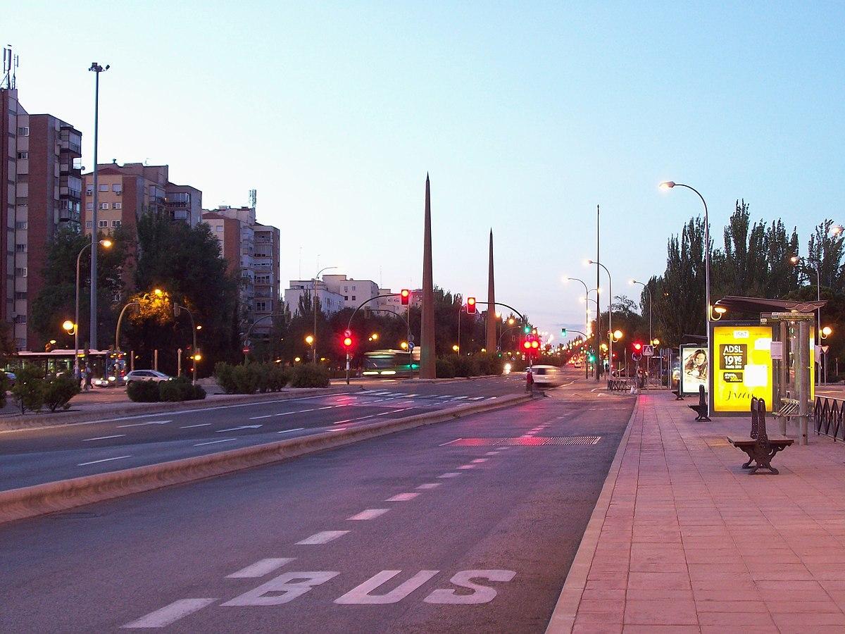 Avenida de andaluc a madrid wikipedia la enciclopedia libre - Oficina de extranjeria avenida de los poblados ...