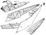 Avro Avian III fuselage detail Le Document aéronautique July,1928.png