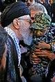 Ayatollah Khamenei in Funeral of Mohsen Hojaji in Tehran 013.jpg