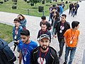 Azerbaijani Wikipedians in 2018 Spring WikiCamp 06.jpg