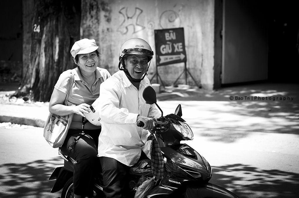 Moto taxi au Vietnam - Photo de Bảo Trí Nguyễn