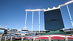 B-2 Spirit soars over Royals vs. Orioles game.JPG