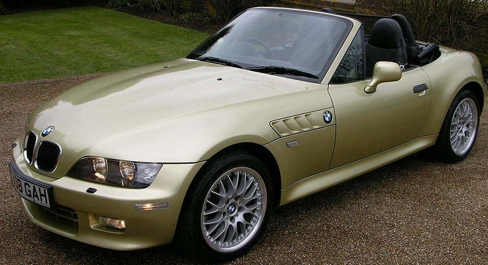 BMW Z3 3.0i 2001 - Flickr - The Car Spy (9) (cropped)