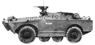 BRDM - BRDM-1 with 12.7mm DsHK Heavy Machine gun