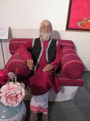 Balwant Moreshwar Purandare - Babasaheb Purandare Wax Statue at Wax Museum, Lonavala.