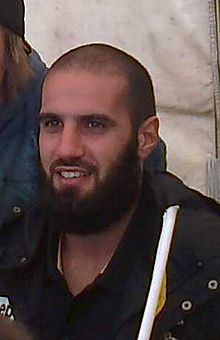 Bachar Houli 2 Richmond Family Day 16 February 2014.jpg