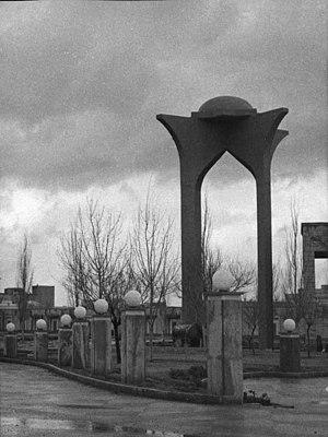 Baqir Khan - Tomb of Bāqer Khān in Toobaeyye cemetery, Tabriz