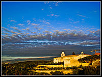 Balamand Monastery at Evening.jpg