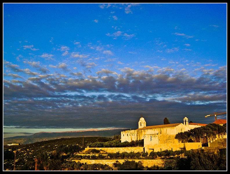 Plik:Balamand Monastery at Evening.jpg