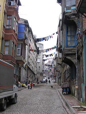 Balat, Fatih - View of a street in Balat
