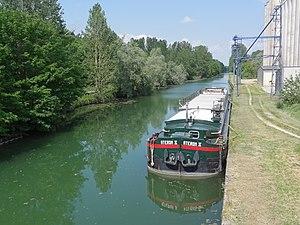 Balham, Ardennes - The Canal des Ardennes at Balham