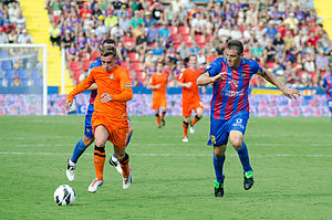 Antoine Griezmann - Griezmann playing away to Levante in September 2012