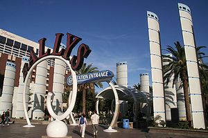 Bally's Las Vegas - Bally's Las Vegas Entrance in 2006