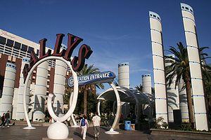 Bally's Las Vegas - Bally's Las Vegas Entrance in 2006