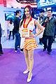 Bandai Namco promotional models, Taipei Game Show 20170124b.jpg