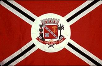 Santa Isabel, São Paulo - Image: Bandeira de Santa Isabel