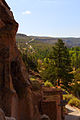 Bandelier National Monument and a road to it.jpg