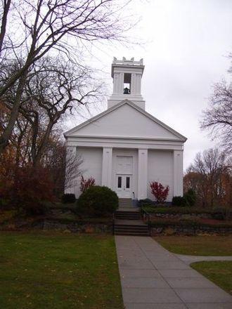 North Kingstown, Rhode Island - Image: Baptist Church in Wickford RI