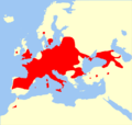 Barbastella barbastellus range Map.png